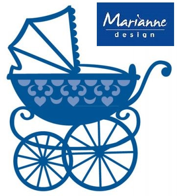 BABY by Marianne Design - Шаблон за рязане и ембос LR0218