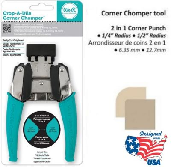 Corner CHOMPER TOOL  - Перфоратор за ЗАОБЛЯНЕ на ъгли 2 размера