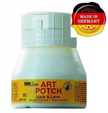 ART POTCH - Лак / лепило за салфетна техника САТЕН 250 мл.