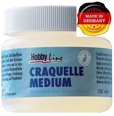 CRACKLE MEDIUM - Напукващ медиум / КРАКЛЕ за акрилни бои 150мл