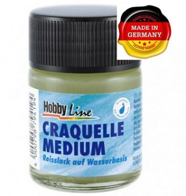 CRACKLE MEDIUM - Напукващ медиум / КРАКЛЕ за акрилни бои 50мл
