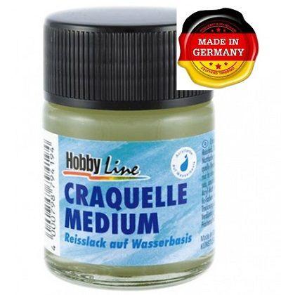 CRACKLE MEDIUM - Напукващ медиум / КРАКЛЕ за акрилни бои 50мл