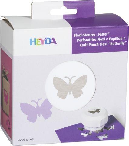 HEYDA FLEXI Punch  40mm - Дизайн пънч BUTTERFLY