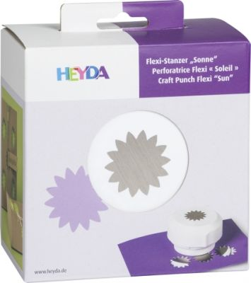 HEYDA FLEXI Punch  40mm - Дизайн пънч  SUN