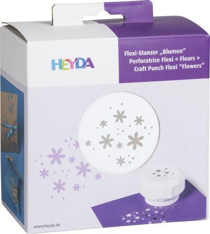 HEYDA FLEXI Punch  40mm - Дизайн пънч FLOWERS