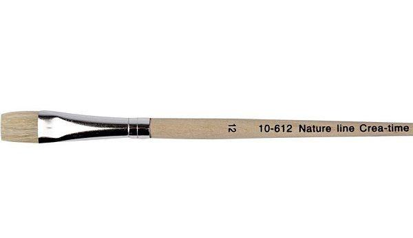 NATURE LINE BRUSH 12 - Четка плоска четина 12 / 12мм