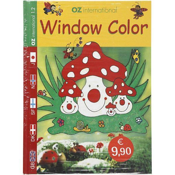 WINDOW COLOUR BOOK - Книга-наръчник с твърди корици OZ