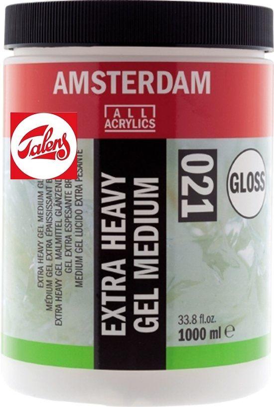 Amsterdam EXTRA HEAVY GEL MEDIUM GLOSS , Talens - ЕКСТРА ТЕЖЪК ГЕЛ МЕДИУМ ГЛАНЦ  1000мл