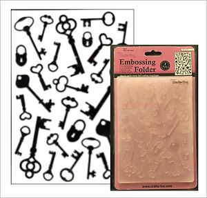 Crafts,UK -универсална ембос папка -12,5x17.5 cm.