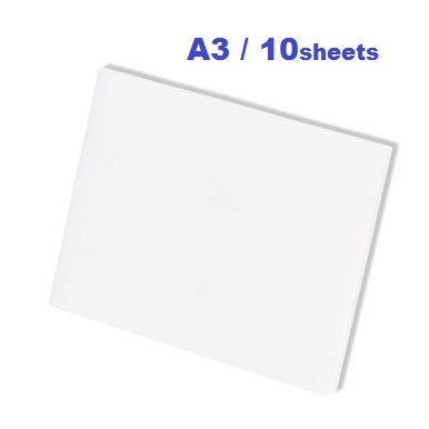 CLEAR ACETATE A3 - АЦЕТАТНИ ЛИСТИ пакет 10 бр