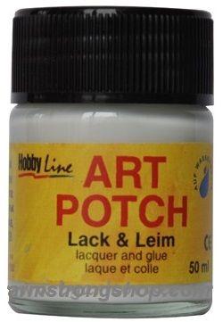 ART POTCH - Лак / лепило за салфетна техника САТЕН 50 мл.