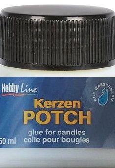 CANDLE POTCH - Лак / лепило за декупаж върху свещи и сапун 50 мл.