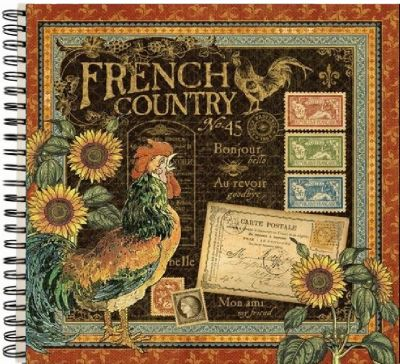 "ALBUM SCRAPBOOKING ""French Country"" - Дизайнерски скрапбукинг албум 36 страници 30,5х30,5 см"