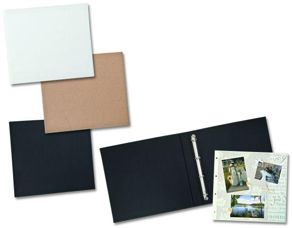 ALBUM  RINGBINDER 30,5 X 30.5 -  Скрапбук албум с 4 ринга 31Х32 см. ЧЕРЕН