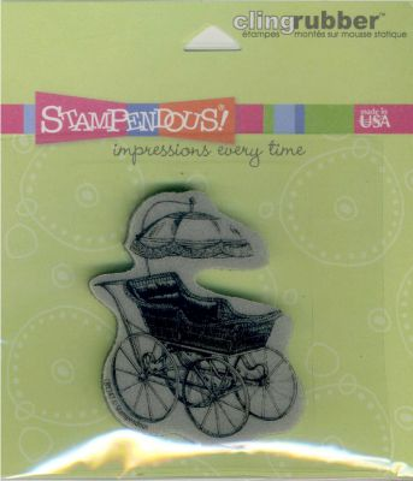 STAMPENDOUS USA -  Гумен клинг печат 8 см.