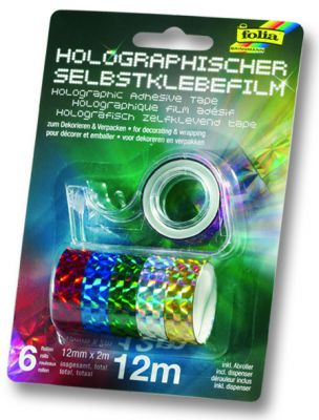 Холограмно тиксо - призми, Folia, Germany