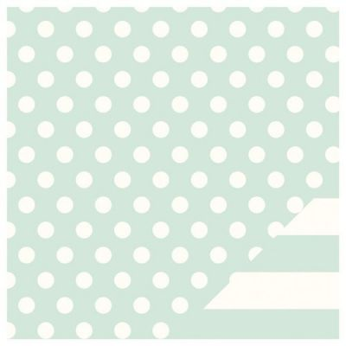 """AM CRAFTS USA , SOFT BLUE - CLASSIC  12X12"""" - Двустранен дизайнерски картон 30,5 х 30,5 см."""