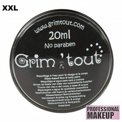 GRIM TOUT AQUA FACE PAINT - `AQUA` Боя за лице и тяло 20ml  BLACK