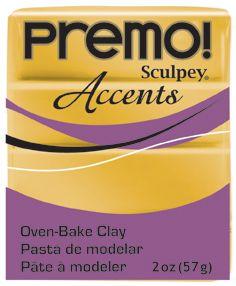 `PREMO Accents` USA - Професионална серия полимерна глина -  18K Gold, 2oz