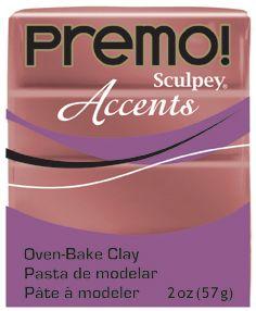 `PREMO Accents` USA - Професионална серия полимерна глина -  Bronze, 2oz