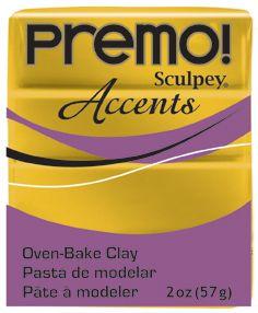 `PREMO Accents` USA - Професионална серия полимерна глина -  Antique Gold, 2oz