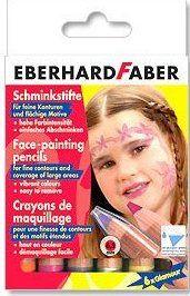 Комплект грим моливи за лице водоразтворими  - 6 цв. металици - EFА - Germany