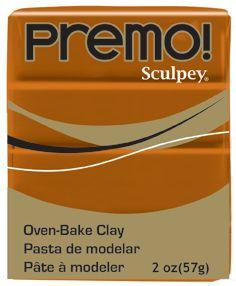`PREMO` USA - Професионална серия полимерна глина - Raw Sienna, 2oz