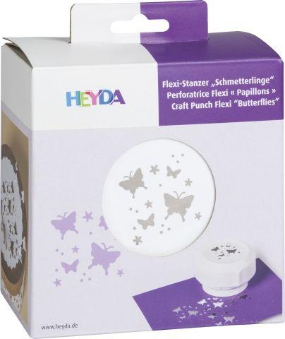 HEYDA FLEXI Punch  40mm - Дизайн пънч BUTTERFLIES
