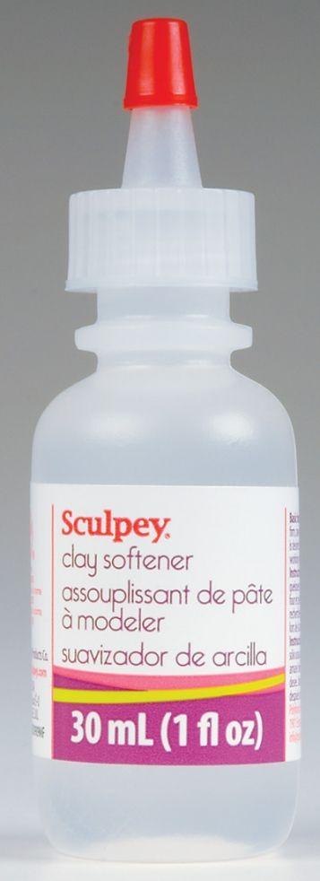 CLAY SOFTENER ,USA - течен омекотител за полимерни глини.
