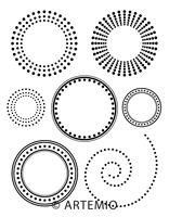 ARTEMIO - Дизайнерска колекция печати -7.5Х9.5см.