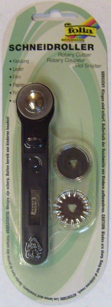ROTARY CUTTER, Folia - Ролков НОЖ с три вида ножчета