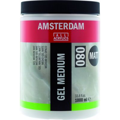 Amsterdam GEL MEDIUM MATT , Talens - ГЕЛ МЕДИУМ МАТ 1000мл