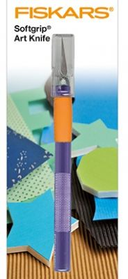 FISKARS Softgrip ART KNIFE  - Прецизен скалпел FISK6711
