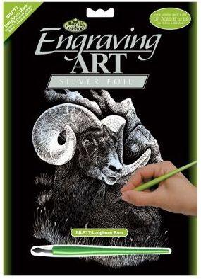 R&L,USA Engraving Art А4 - Картина за гравиране -сребърно фолио
