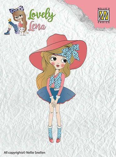 "Lovely Lena ""Pretty Lena"" CSLL001  - Дизайн силиконов печат"