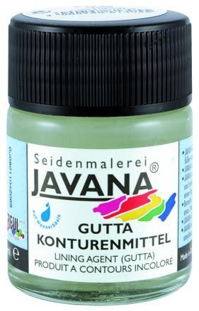 JAVANA GUTTA 50ml - Безцветен контур за коприна