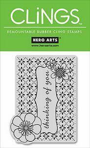 HERO ARTS, USA - Дизайнерски CLING ГУМЕН печат