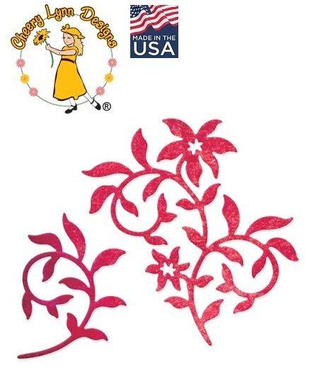 Cheery Lynn ,USA - Шаблон за рязане и ембос / b571
