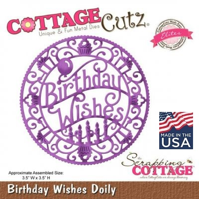 CottageCutz BIRTHDAY WISHES - Щанца за рязане
