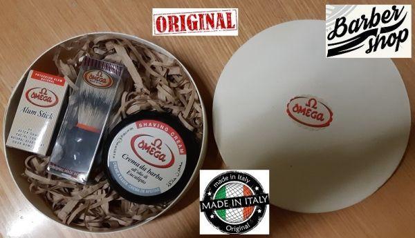 MENS BARBER SET 1 by Omega - Мъжки комплект за бръснене