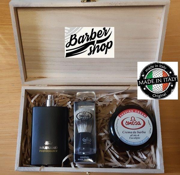 MENS BARBER SET 2 by Omega - Мъжки комплект за бръснене