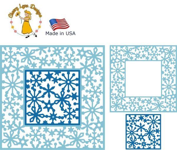 Cheery Lynn ,USA - К-кт шаблони за рязане и ембос / dl287