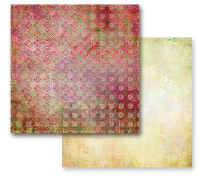 PRIMA USA # FAIRY FLORA - Дизайнерски скрапбукинг картон 30,5 х 30,5 см.
