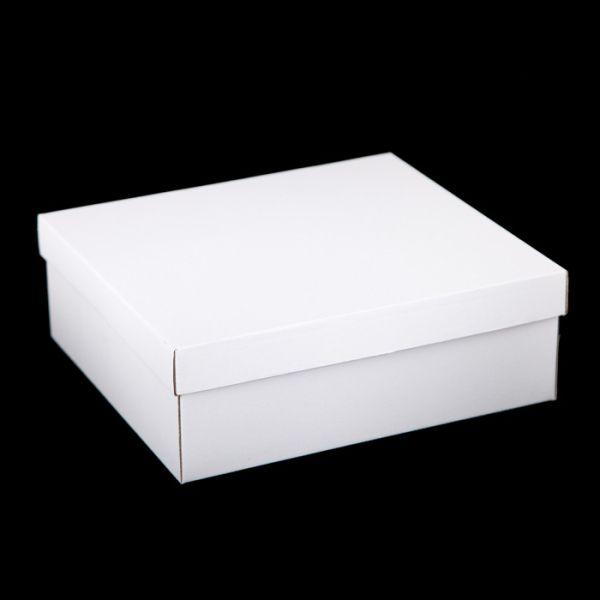 CRAFTBOX  - Кутия 30/19/10 см. с подвижен капак БЯЛА