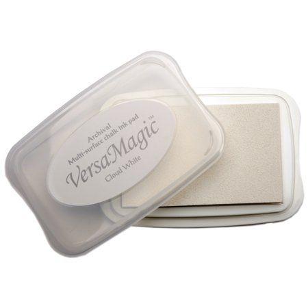 VersaMagic Chalk Ink, Japan - Тампон с бързо съхнещо мастило - Opaque Cloud White