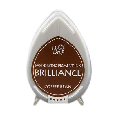 BRILLIANCE DewDrop Pigmet Ink, Japan - Coffee Bean