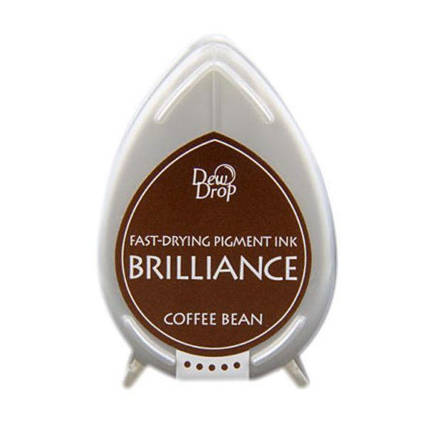 BRILLIANCE DewDrop Pigmet Ink, Japan - Coffee Bean