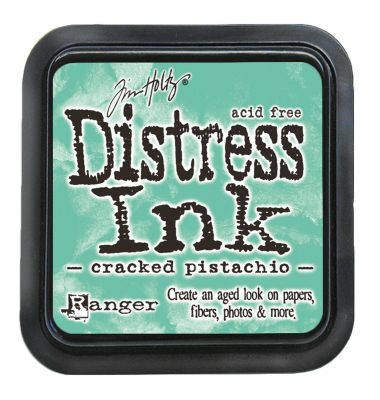 """NEW Distress ink pad by Tim Holtz - Тампон, """"Дистрес"""" техника - Cracked Pistachio"""