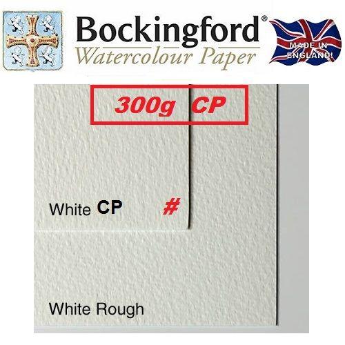 BOCKINGFORD 300g CP 56 X 76 cm. - АКВАРЕЛЕН КАРТОН # Made in England