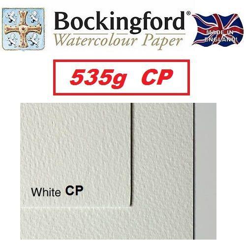 BOCKINGFORD 535g CP - АКВАРЕЛЕН КАРТОН 56 X 76 cm. - Made in England